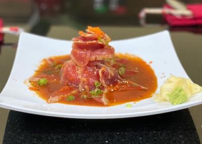 Tuna Tataki - MariKami Thai & Sushi
