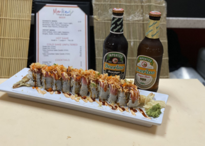 King James roll marikami thai and sushi