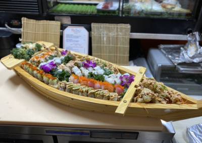 sushi boat marikami thai and sushi